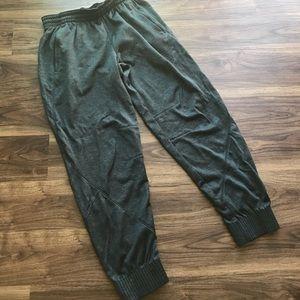 Men's Gray Jordan Workout Sweat Pants Large L
